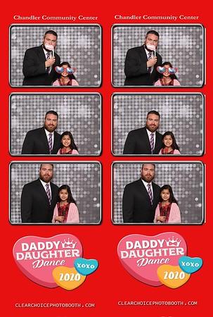 Chandler Daddy Daughter Dance 2.08.2020