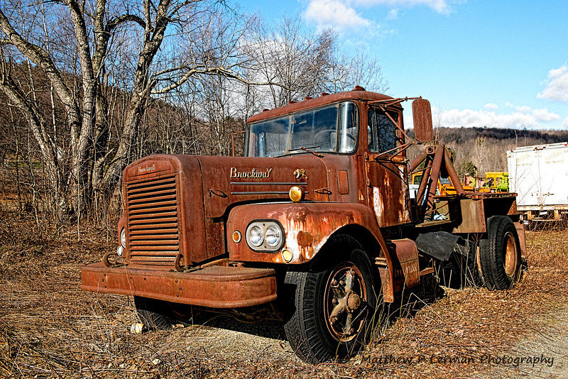 Old Brockway Tow Truck   #1063