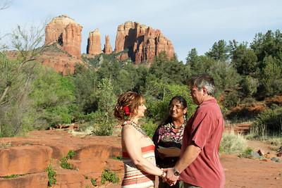 Red Rock Crossing Wedding--Judy & Allen