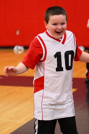 Mentor vs Lousville St. Thomas Aquinas Basketball and Cheerleaders 1.23.9