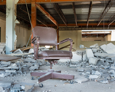 Demolition:  The Christian Book Store
