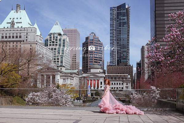 Elena Di Pink Dress