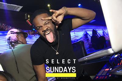 Select Sundays DEC 30th