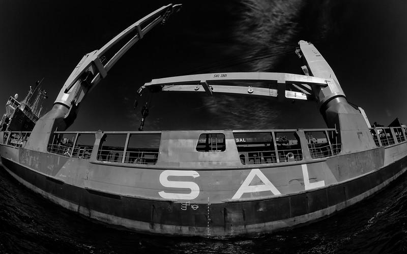 Schwerlastschiff SAL