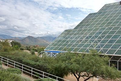 Biosphere 2 near Tucson AZ, 2021