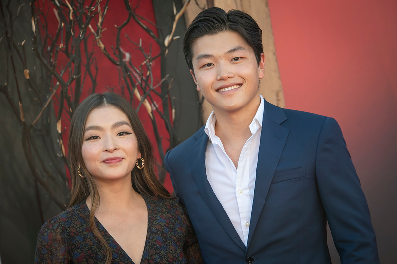 """WESTWOOD, CA - AUGUST 26: Maia Shibutani and Alex Shibutani attend the Premiere Of Warner Bros. Pictures' """"It Chapter Two"""" at Regency Village Theatre on Monday, August 26, 2019 in Westwood, California. (Photo by Tom Sorensen/Moovieboy Pictures)"""