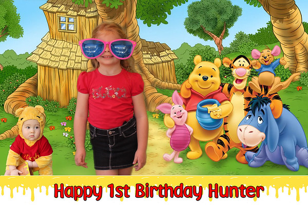 Hunter's First Birthday Party