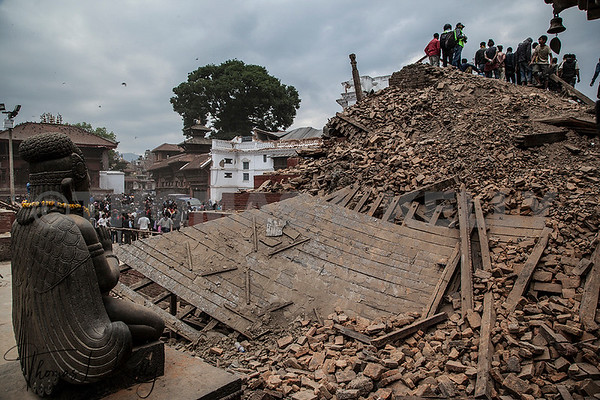 Earthquake Devastates Nepal's Sacred Sites