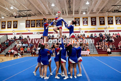 Cheer: Park View JV @ BRHS 10.14.2017 (by Fred Ingham)