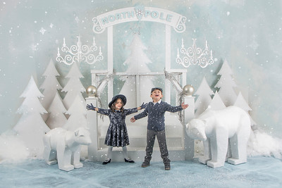 NORTH POLE HOLIDAY PORTRAITS