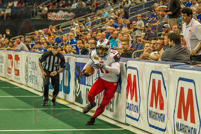 TAMPA BAY STORM vs JACKSONVILLE SHARKS
