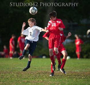 MHS JV Boys Soccer 10-1-2012 v Glenridge