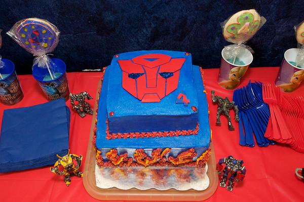 Braden's 4th Birthday Party