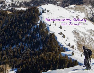 2018 Backcountry Skiing Calendar