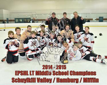 Schuylkill Valley/Hamburg/Mifflin vs Muhlenberg/Wilson EPSHL LT Middle School Championship 2015