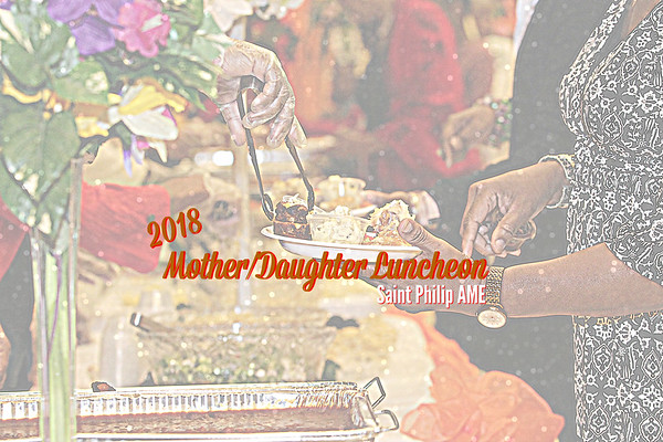 SPC MOTHER/DAUGHTER LUNCHEON 2018