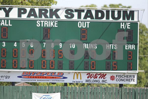 Legion-Oak Grove Post 379 vs Higginsville Post 223 7-17-10