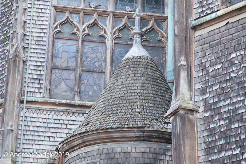Die Kirche der hlg. Katharina in Honfleur ist die größte Holzkirche Frankreichs