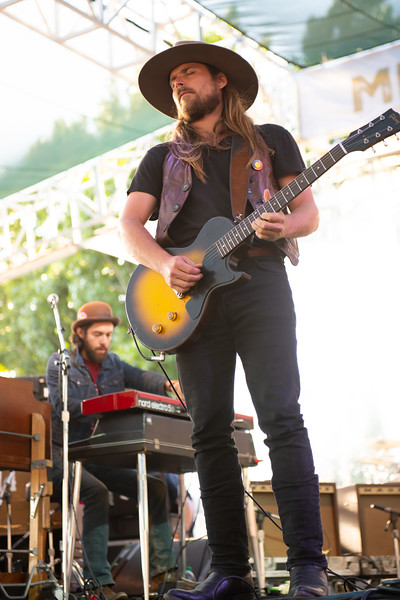 Lukas Nelson and Promise of the Real performing at Bottlerock