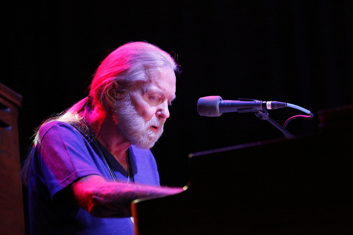 . Gregg Allman performs at Sound Board in the MotorCity Casino, Detroit. Photo by Ken Settle