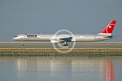 Northwest Airline Boeing 757 Airliner Pictures