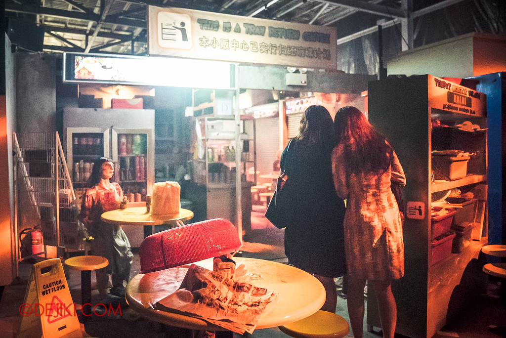 Halloween Horror Nights 6 - Hawker Centre Massacre / Welcome to Ulu Pandan