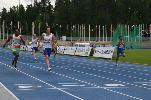 Lahti - 200m Prelims, 800m Finals