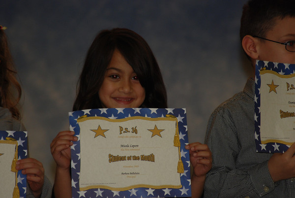 Student Of The Month Nov 2009