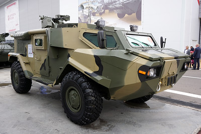 ARMY-2021 - Static displays part 2: Trucks, armoured and tactical vehicles