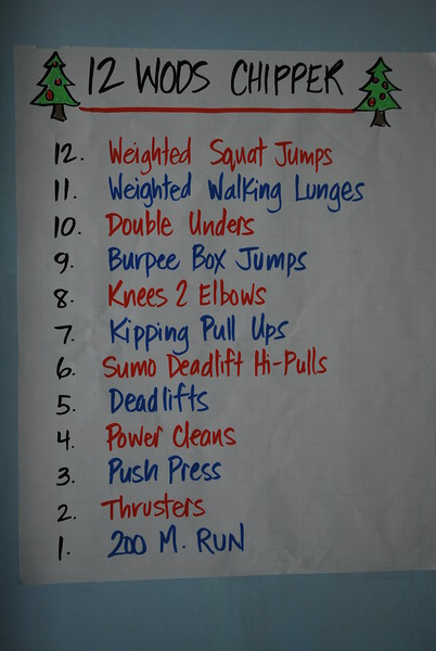 12 WOD of Christmas 2009