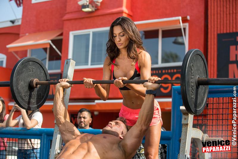 Venice, California.  www.MuscleBeach.com