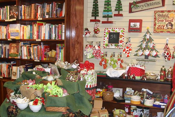 Bookstore Christmas Displays