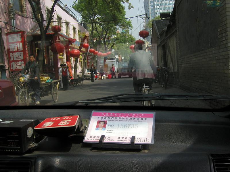 Beijing taxi - 2002