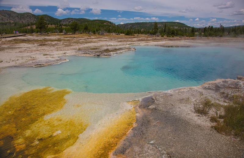 Sapphire Pool - Yellowstone