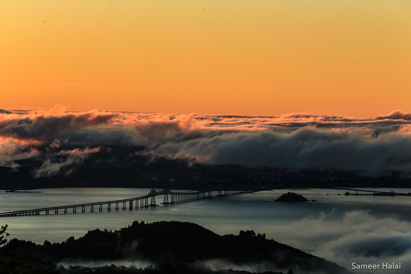 Richmond Bridge in the Bay Area