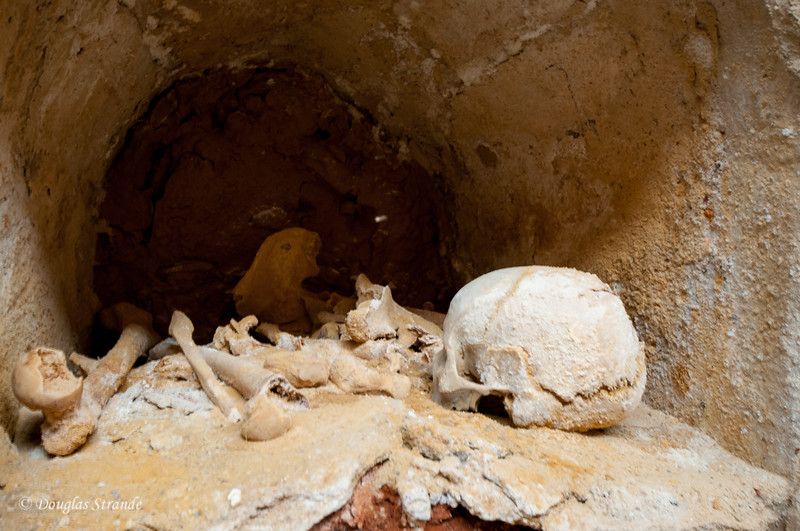 Cartagena, Spain - Crypt at the Punic Wall