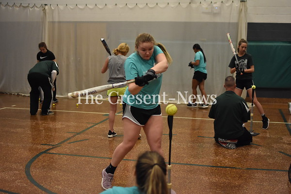 02-18-19 Sports Tinora Softball 1st Practice