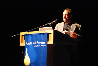 Jimmy Wales at Ford Hall Forum