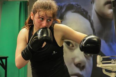 Entrainement de Boxe  -  La Rochelle  -  boxing training