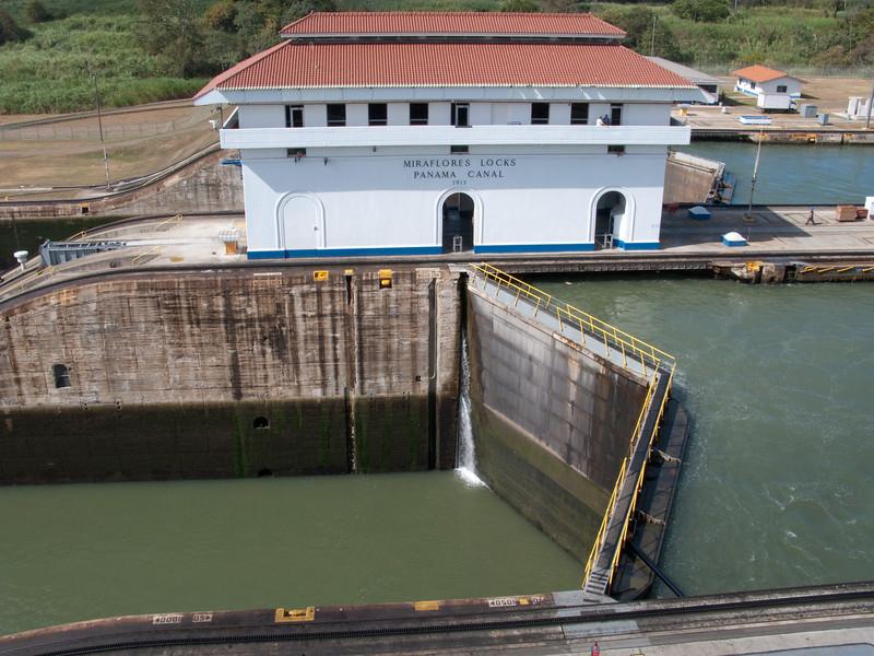 basically a water elevator  Panama