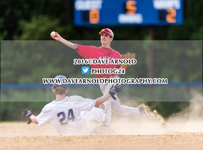 6/9/2016 - MIAA D1 South Semifinal - Varsity Baseball - Attleboro vs Silverlake