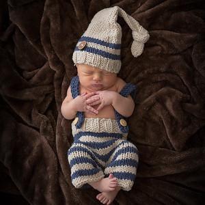 Remy Dziengelewaki- 1 Week Old Newborn Baby Portrait Photography- Westfield MA New England