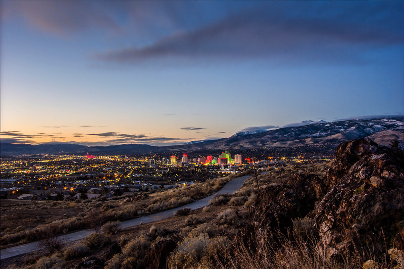 Dawn in Reno