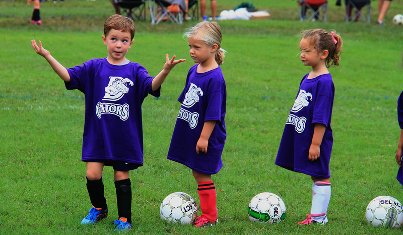 Caroline soccer Purple Gators