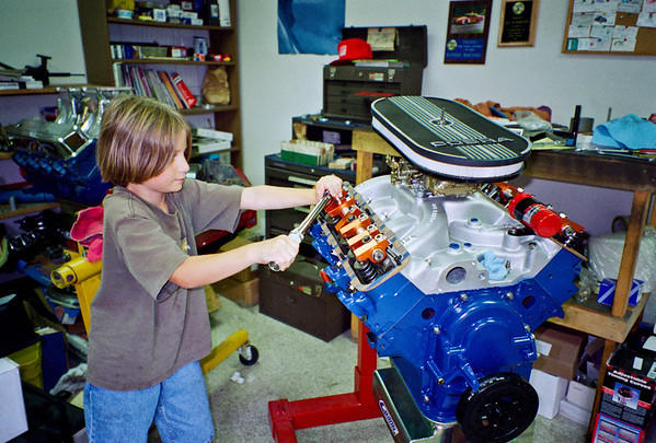 428 Cobra Jet Engine Build