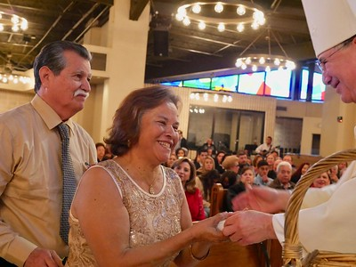 25th and 50th Wedding Anniversary Mass 2019