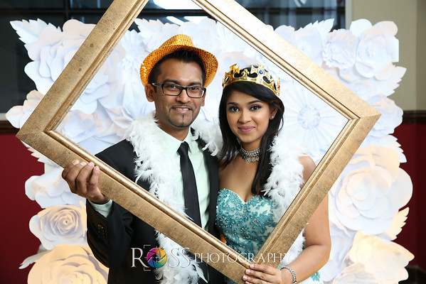 Rajiv & Carminee's Wedding Photo Booth