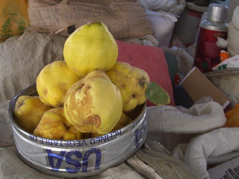 Odd Fruit at Shah Mansur Bazaar - Dushanbe, Tajikistan