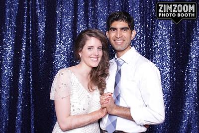 Lauren and Mohan