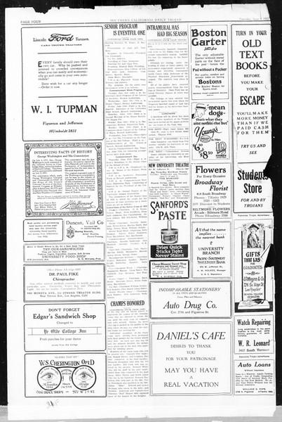 Daily Trojan, Vol. 16, No. 123, June 09, 1925